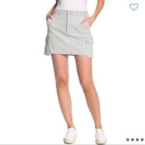 Joe's Jeans - Army Denim Mini Skirt